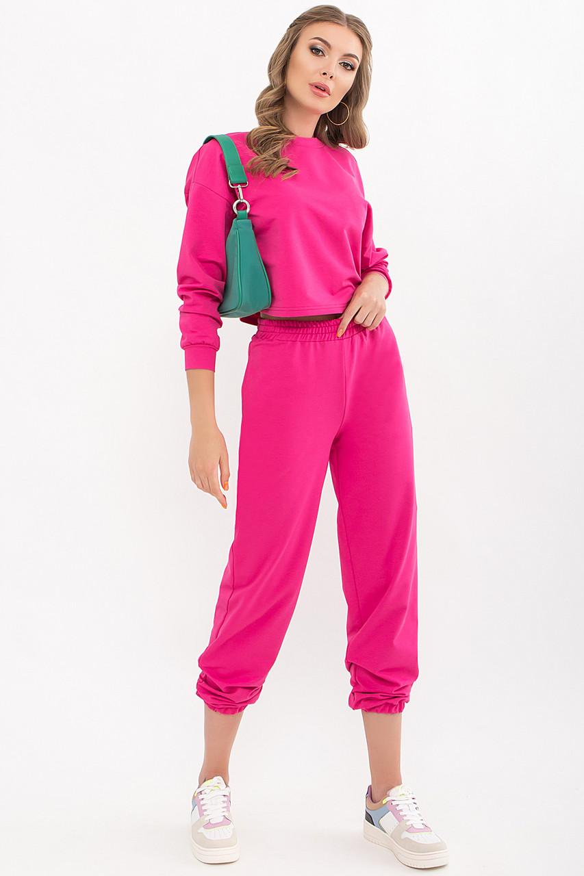 Трендовий спортвный прогулянковий костюм світшот і штани розмір XS, S, M, L, XL