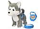 """Інтерактивна собака на повідку """"Хаскі"""" 4431, ходить, співає пісні, музична іграшка собака, фото 2"""