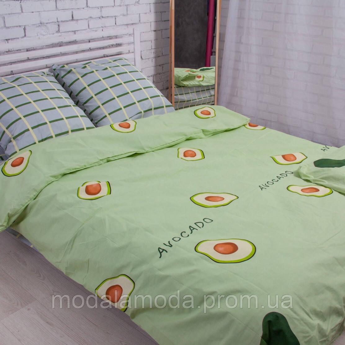 """Семейный размер постельное белье бязь """"Avocado"""""""
