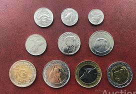 Алжир - набір з 10 монет