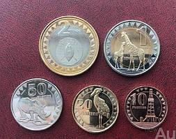 Південний Судан Повний набір 5 монет 2015 рік