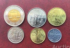 Ефіопія набір 6 монет