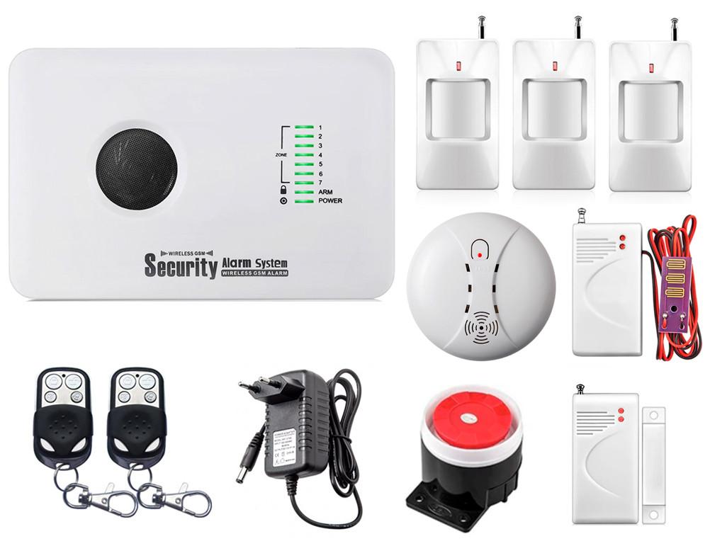 Комплект сигналізації Kerui alarm G10c Pro для 2-кімнатної квартири