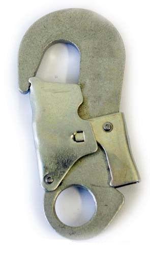Карабин стальной крюк (монтажный карабин)