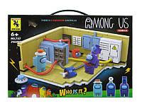 Конструктор Among Us Амонг Ас 256 деталей в наборе размер коробки 32*22*4.5см