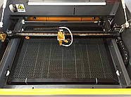 Лазерный станок 60*40 Ruida с ЧПУ гравер CO2 600*400, 80Вт Reci, 80w Лазерные станки для резки и гравировки, фото 2