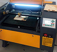 Лазерный станок 60*40 Ruida с ЧПУ гравер CO2 600*400, 80Вт Reci, 80w Лазерные станки для резки и гравировки, фото 3