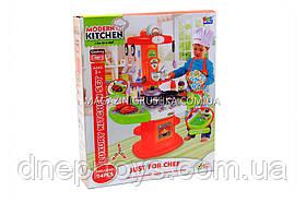 Дитяча іграшкова кухня з посудом (світло, звук, вода) 24 елемента 16808
