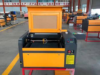 Гравёр, станок СО2 - 50 ВТ /Лазерный станок CO2 / Лазер ЧПУ WR 6040