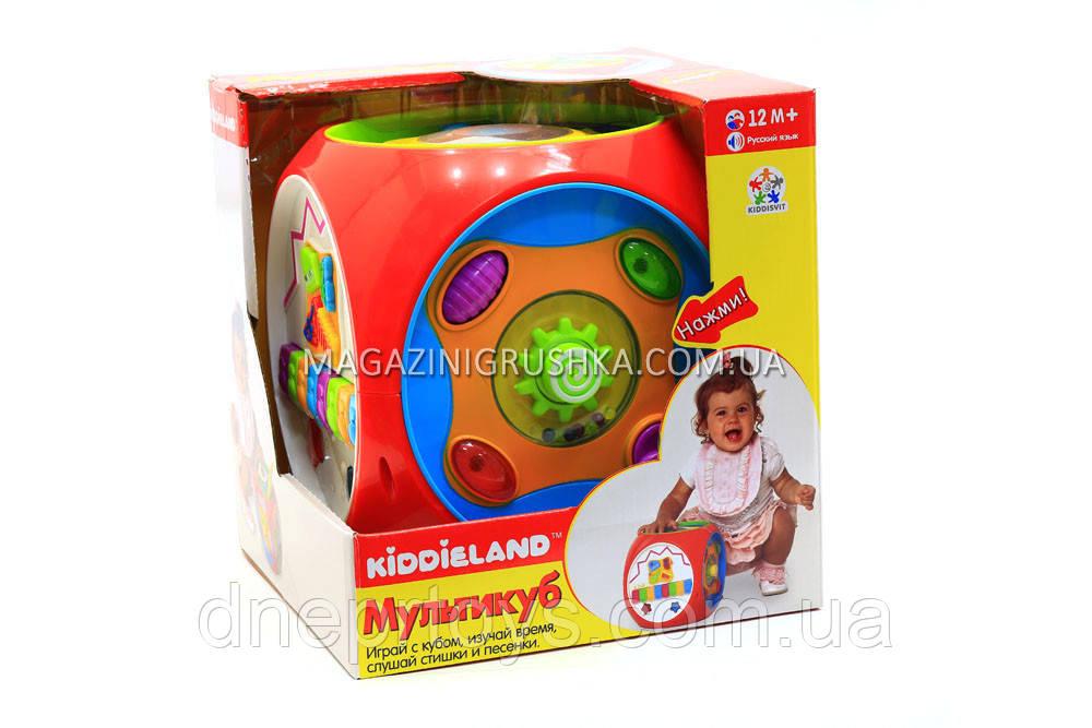Развивающий набор Kiddieland мультикуб (049775)