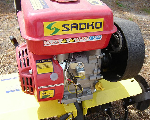 Бензиновый культиватор Sadko T-9057 (5.7 л.с.) фото 8