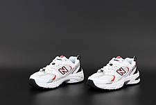 Женские кроссовки в стиле New Balance 530 | White Red, фото 2