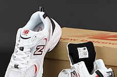 Женские кроссовки в стиле New Balance 530 | White Red, фото 3