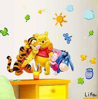 "Наклейка на стену ""Винни-пух и друзья"", фото 1"