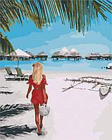 Картина за номерами малювання Brushme BS28185 Лазурний берег