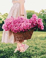 Картина за номерами малювання Brushme BS34188 Весна в кошику