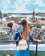 Картина за номерами малювання Brushme BS29260 Погляд на місто