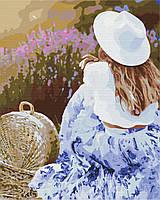 Картина за номерами малювання Brushme BS37604 Улюблена лаванда