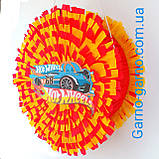 Піньята Hot Wheels хотвилс hotwheels машина машинки тачки паперова для свята барабан діаметр 30 см, фото 3