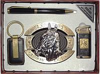 Подарочный набор MOONGRASS с пепельницей. 4 предмета алPN4046