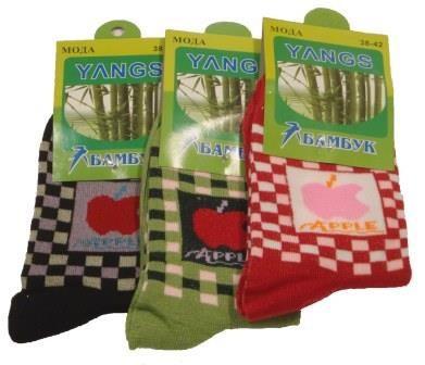 """Женские носки """" Yangs """" , A33/05 бамбук"""