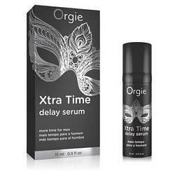 Сыворотка-пролонгатор акта «X-TRA TIME» Delay Serum, 15 мл Orgie