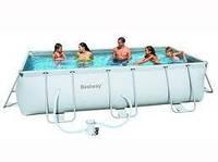 Каркасный бассейн Bestway (404см х 201см х 100см)