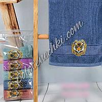 Махровое кухонное полотенце Тигр с короной (6)