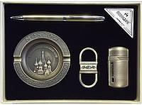 Подарочный набор MOONGRASS с пепельницей. 4 предмета алPN1-56
