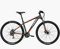 Велосипед Trek 2016 Marlin 5 серый с оранжевым