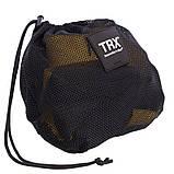 Петли TRX тренировочные подвесные многофункциональные PRO PACK P3 HOME Черный-желтый (СПО FI-3726-05), фото 8