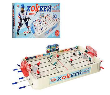 Дитячий настільний хокей на штангах Іграшковий настільний хокей Настільна гра хокей для 2-6 чоловік