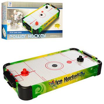 Настільний аерохокей зі шкалою ведення рахунку Аэрохокей працює від батарейок Аэрохокей настільний для дітей