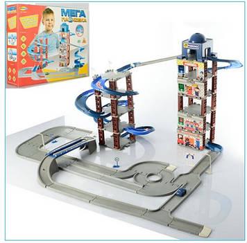 Игровой набор гараж Детский игрушечный гараж-парковка Игровой гараж-парковка для машинок Парковка-гараж игра