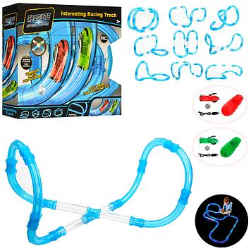 Детский автотрек трубопроводный Автотрек трубопроводный на радиоуправлении и в световых эффектах Гоночный трек