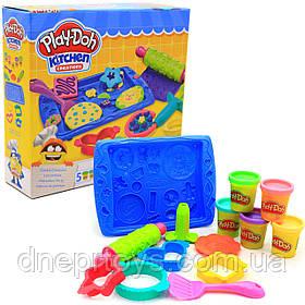Игровой набор Play-Doh Hasbro Магазинчик печенья, 5 баночек (B0307)