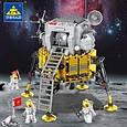 Конструктор 4в1 Космічна станція, ракета, місяцехід, місячний зонд, 447 дет, фото 3