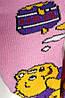 Шкарпетки дитячі демісезонні рожевого кольору, р. 12-14