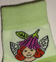 Носки детские демисезонные салатового цвета, р.12-14, фото 1