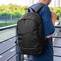 Мужской спортивный рюкзак  Nike Just Do It  2 черный ,молодежный стильный городской рюкзак найк, рюкзак Найк