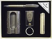 Подарочный набор MOONGRASS с пепельницей для сигары. 4 предмета алPN1-4
