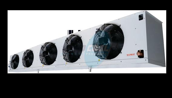 Воздухоохладитель среднетемпературный SBA-84-545-GS-LT (повітроохолоджувач)