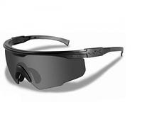 Очки Wiley X PT-1 Smoke/Clear Matte Black