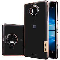 TPU чехол Nillkin для Microsoft Lumia 950 XL золотистый, фото 1