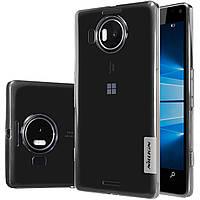 TPU чехол Nillkin для Microsoft Lumia 950 XL серый, фото 1