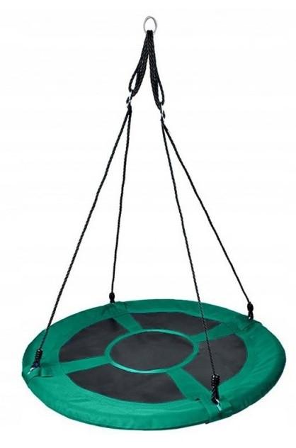 Гойдалки дитячі підвісні Гніздо лелеки 2610 круглі для дітей