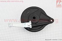 Loncin - LX200GY-3 Панель гальмівна задня з колодками , ЧОРНИЙ