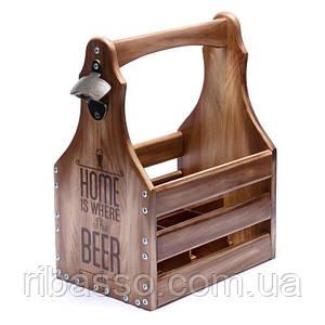 Ящик для 6 бутылок пива 0,5 л. 040527