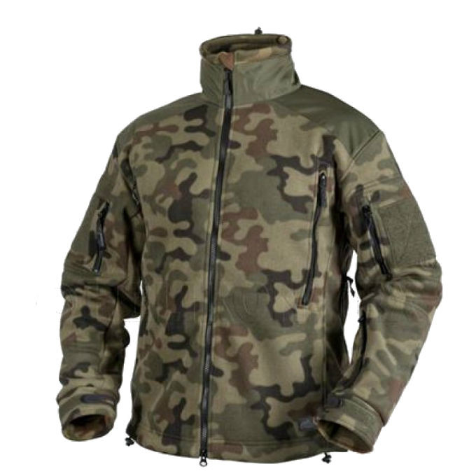 Тактическая куртка Helikon LIBERTY Double Fleece - PL Woodland