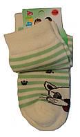 Носки детские демисезонные молочного цвета, р.18-20, фото 1